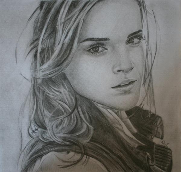 Emma Watson by Roel